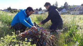 Removing the sticks! PaNDiv
