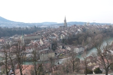 Bern from Rosengarten
