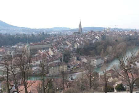 Bern from Rosengarten